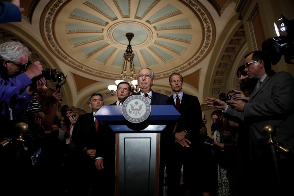 Senate Republican leadership releases long-awaited healthcare bill