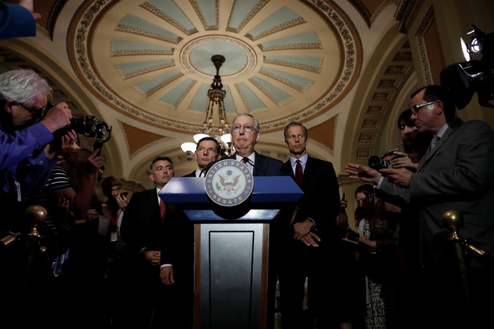 Senate Republican leadership releases long-awaited healthcare bill