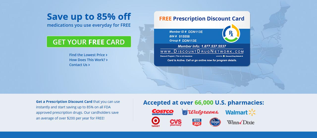 Discount Drug Network Program