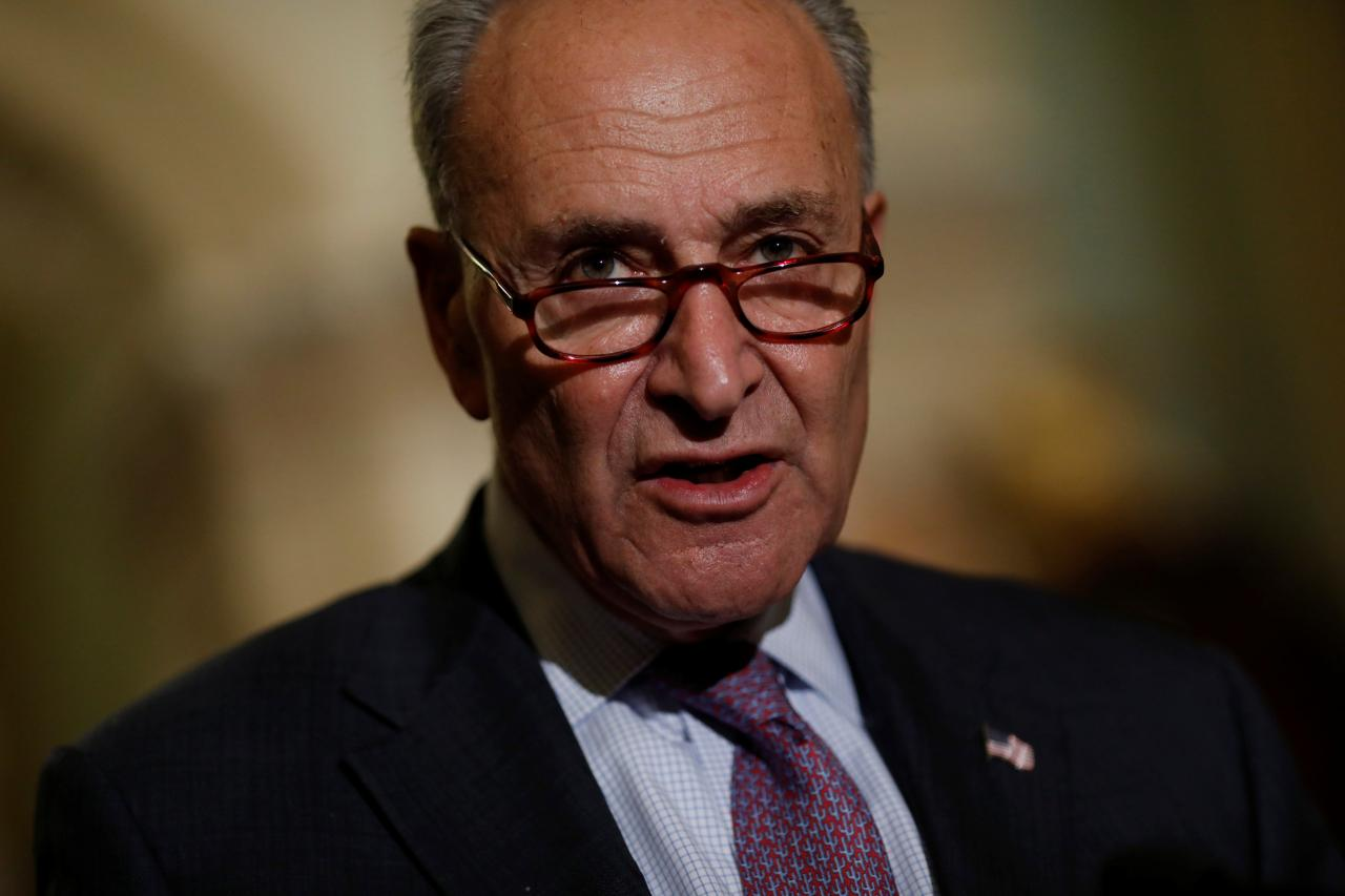 Senators close to bipartisan deal on health exchanges: Schumer