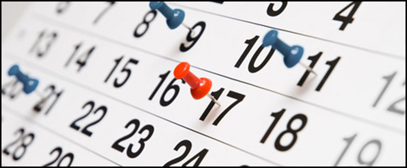 Important Deadlines and Reminders for 2019